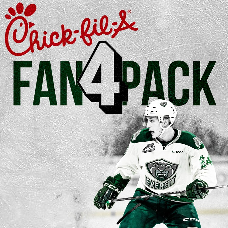 2019-20 CHICK-FIL-A FAN 4 PACK | TICKET & SANDWICH COMBO