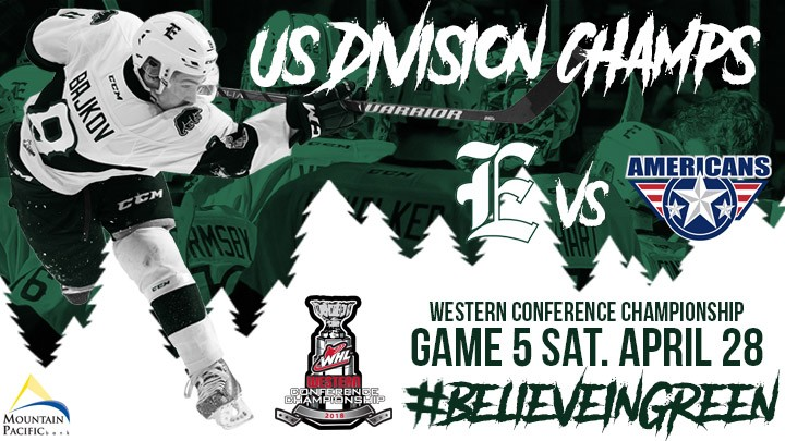 PLAYOFF FAN 4 PACK -  SATURDAY,  APRIL 28 VS TC <BR> WESTERN CONFERENCE FINALS VS. TC